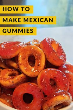 Ingredients 3 cups white sugar 3 teaspoons salt 3 teaspoons chili powder 1 bottle Tajin (or your favorite chili lime fruit seasoning). Mexican Tamarind Candy, Mexican Mango, Mexican Snacks, Mexican Food Recipes, Mexican Desserts, Candy Recipes, Snack Recipes, Freezer Recipes, Freezer Cooking