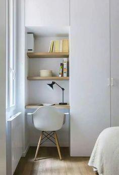 Study Area Our Bedroom   Appartement 17 Eme U2013 Margaux Beja