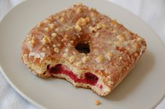 Peanut butter and Jelly donut from Doughnut plant