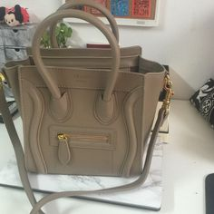 Celine Luggage Micro Bag. Price drop!!! Look alike of the Celine Micro Luggage Bag. New. Very good condition. Removeable Straps. Celine Bags Mini Bags