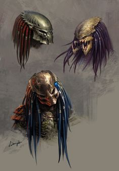 Rival alien races, one of which is the deadliest known form of life in the galaxy while the other is all about hunting and searching for a worthy opponent, and their interaction with humans. Alien Vs Predator, Predator Cosplay, Predator Costume, Predator Alien, Les Aliens, Aliens Movie, Xenomorph, Alien Creatures, Fantasy Creatures