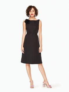 v-back structured dress by kate spade new york