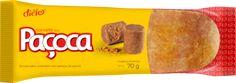 Diêlo Alimentos - Produtos - Paçoca - Sorvete sabor amendoim com pedaços de paçoca