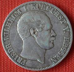 1855 Hessen-Kassel Friedrich Wilhelm I. 1 Taler - Friedrich Wilhelm I. (Hessen-Kassel) – Wikipedia