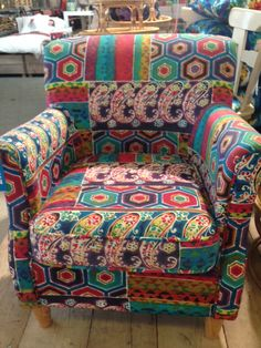 Love this chair from Ibiza