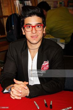 Piero Barone of <a gi-track='captionPersonalityLinkClicked' href=/galleries/search?phrase=Il+Volo&family=editorial&specificpeople=7531185 ng-click='$event.stopPropagation()'>Il Volo</a> attend <a gi-track='captionPersonalityLinkClicked' href=/galleries/search?phrase=Il+Volo&family=editorial&specificpeople=7531185 ng-click='$event.stopPropagation()'>Il Volo</a> CD Signing and performance at Barnes & Noble on June 4, 2013 in New York City.