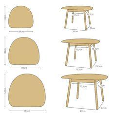 【楽天市場】【受注生産商品】幅89cm 111cm 133cmの3サイズ ナラ材 ナラ無垢材 半楕円形状のかわいらしいダイニングテーブル カウンターテーブルとしても使用できます LIPO-DT 外側に開いたスリム脚が開放感のあるお部屋を演出します:JOYSTYLE interior