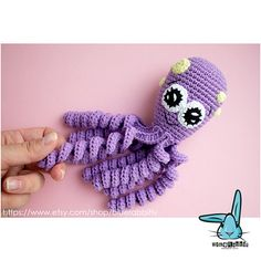 Check out this item in my Etsy shop https://www.etsy.com/listing/611121109/purple-octopus-crochet-amigurumi-toy