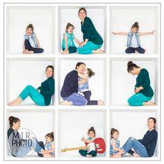 Shooting photo dans une box, une séance originale qui permet de nombreuses combinaisons ! #photobox #photointhebox #studiophoto Photobox, Shooting Photo, Studio, Polaroid Film, Bodysuit Fashion, Photo Shoot, Petite Fille, Laughing, Photography
