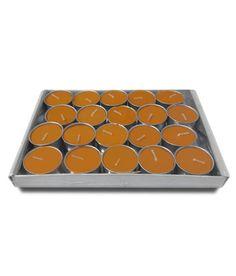 Saffron & Sage Scented T Lite Candles Pack Of 20 By Pride & Joy Arts Festive Decor on Shimply.com