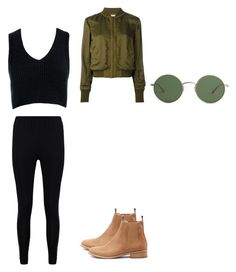 """Untitled #178"" by austynh on Polyvore featuring T By Alexander Wang, Sans Souci, Boohoo, Mollini and The Row"