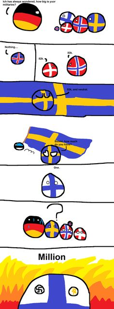 Finland has felt something, that Sweden will never understand Funny Images, Best Funny Pictures, Funny Photos, Funny Cute, Hilarious, Joke Stories, History Memes, Comic Panels, Good Jokes