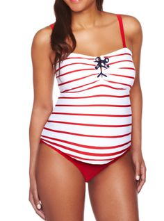af29b7f95b9 ShopStyle:+A+Pea+in+the+PodHalter+Maternity+One+Piece+Swimsuit   { Baby }    Pinterest   Maternity swimwear, Maternity Swimsuit and Pregnancy