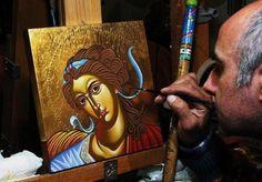 30393_1371091810517_4296865_n Byzantine Icons, Portrait, Tattoos, Painting, Art, Art Background, Headshot Photography, Men Portrait, Painting Art
