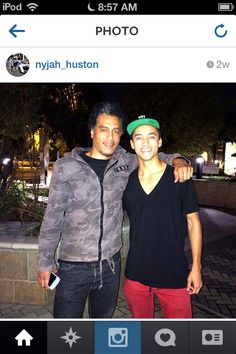 Nyjah and his dad:) Nyjah Huston, Longboarding, Skateboarding, Cruise, Dads, Bomber Jacket, Jackets, Fashion, Down Jackets