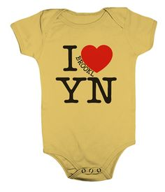 Brooklyn Animal Shortsleeve Onesie Bodysuit - I Heart Brooklyn