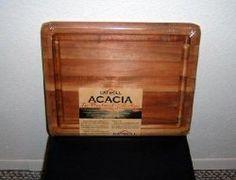 Thumbnail of Elegant Catskill Acacia Wood Cutting Carving Board C