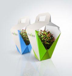 Packaging para transportar las plantas | Salpicando Diseño - Blog de diseño industrial, diseño gráfico, packaging, decoración, fotografía,.....