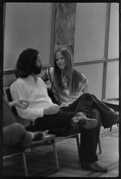 Patricia Kennealy | Jim Morrison with Cheri Siddons