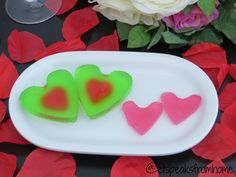 Valentine Day Jelly Heart - ET Speaks From Home