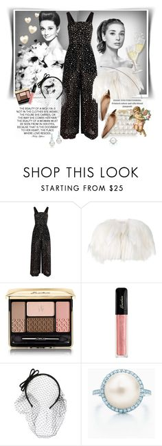 """Jumpsuit"" by danijelapoly ❤ liked on Polyvore featuring Diane Von Furstenberg, Jimmy Choo, Valentino, Guerlain, RED Valentino and Tiffany & Co."