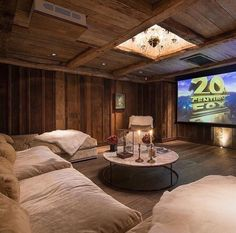 Love this theater room!