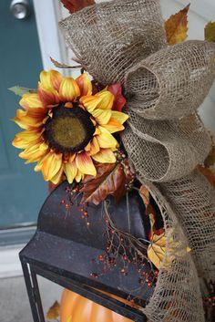 Sweet Something Designs: Decorating With Burlap Garland