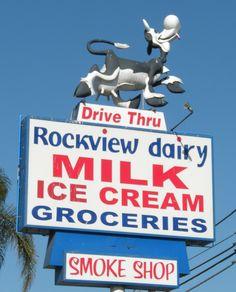 Rockview Dairy Drive Thru-Fullerton, Ca