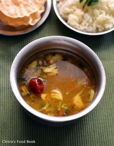 Chitra's Food Book: Garlic Rasam/Poondu Rasam Recipe-Rasam Varieties