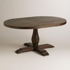 Round to Oval Java Greyson Extension Table - v1