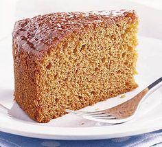 Devonshire honey cake, perfect for a cream tea from BBC Good Food Chocolate Sponge Cake, Dark Chocolate Cakes, Cream Tea, Food Cakes, Cupcake Cakes, Cake Cookies, Cake Recipes, Dessert Recipes, Desserts