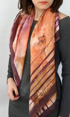 Hey, I found this really awesome Etsy listing at https://www.etsy.com/listing/224415202/hand-painted-silk-scarfsquare-silk