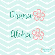Ohana Aloha Hibiscus Flower car decal wall art Vinyl Decal Sticker screen print Tshirt Printable-  sc 1 st  Pinterest : ohana wall decal - www.pureclipart.com