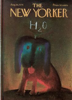 André François : Cover art for The New Yorker