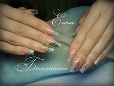 Дизайн ногтей осень 2013