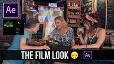 """Color Correcting the Right Way """"The Film Look"""" in After Effects: SA Colo..."""