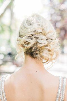 Gorgeous Bridal Updo | Alexis June Weddings