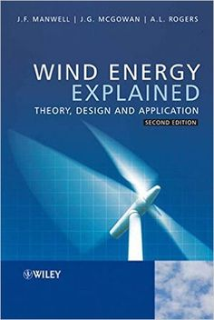 Wind energy explained : theory, design and application Manwell, J.F. Chichester : John Wiley & Sons, cop. 2009 Novedades Diciembre 2016