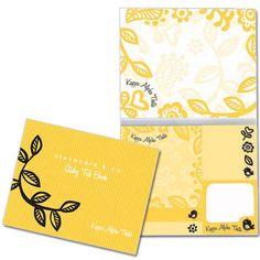 Kappa Alpha Theta Sticky Tab Book