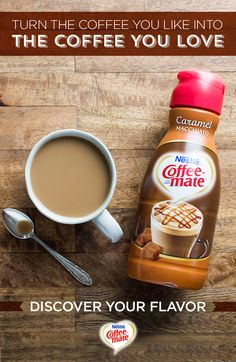 Transform your everyday coffee into something extraordinary. Learn more about our different flavors and types of creamers when you try Coffee-mate today.