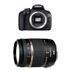 Canon EOS 1200D SLR-Digitalkamera nur Gehäuse schwarz + Tamron 18-270mm Objektiv - http://kameras-kaufen.de/canon/canon-eos-1200d-slr-digitalkamera-18-megapixel-c-7-4