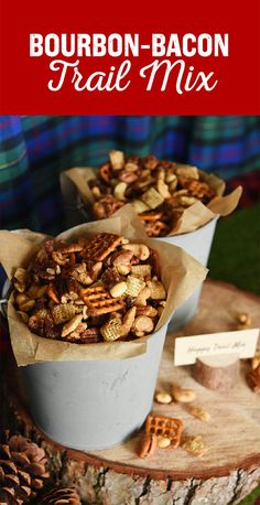 """These snacks were originally cooked up for a lumbersexual-themed """"bro-dal"""" shower menu. You can check out the full party plan here."""