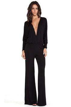 Young, Fabulous & Broke Eaton Jumpsuit in Black