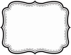 Tag Template Images Of Fancy Gift Free Printable Label Templates Clothing Planner Sticker Android Name Tag Template Blank Paper Label Photoshop Label Template Free Beer Bottle Label Template Photoshop Printable Labels, Printables, Free Printable, Free Label Templates, Chalkboard Decor, Black And White Frames, Wedding Tags, Pantry Labels, Frame Template