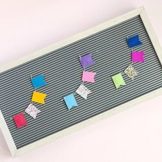 The Best Letterboard Accessories - at home with Ashley Cute Crafts, Felt Crafts, Diy Letter Board, Letterboard Signs, Letter Icon, Plastic Letters, Fancy Letters, Picture Letters, Summer Crafts For Kids