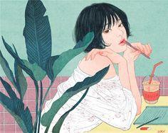 """Tình yêu, đam mê, ham muốn, tất cả hòa quyện vào nhau tạo nên những bức tranh đẹp đến nao lòng khiến những ai đang yêu chỉ muốn đắm chìm sâu hơn nữa và những ai chưa có diễm phúc được yêu càng khao khát hơn thứ hạnh phúc """"thiên đàng"""" ấy . Zipcy , tên thật là Yang Se Eun , là một họa sĩ 29 tuổi đến..."""