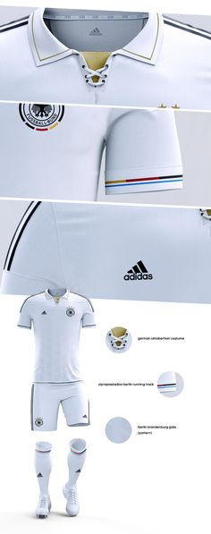 80 years of the Berliner Olympiastadion we decided to come up with a new jersey concept that helped represent different things in Germany. Not only that but it was also a way to celebrate the 80 years of the opening of the stadium in 1936.