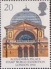 Alexandra Palace - Stamp World Exhibition, London - 1990 - European City of Culture