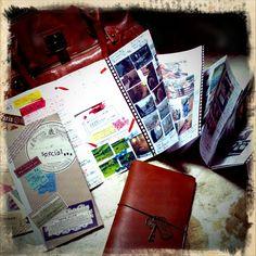 Midori Travelers Notebook.
