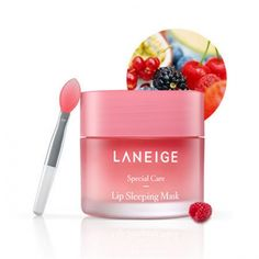 LANEIGE LIP SLEEPING MASK 20g            Features  When it does not solve a lip balm  Using lip balm annoying people Many dry lips Using lip balm annoying people Lips sleeping mask are made resilient at sleeping time.           Detail        How to use 1.